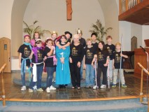 "St. Thomas' children & youth lead worship with their performance of ""Malice in the Palace"""